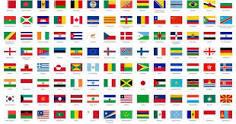 Gambar Bendera Negara Seluruh Dunia Dan Namanya Brainly Co Id