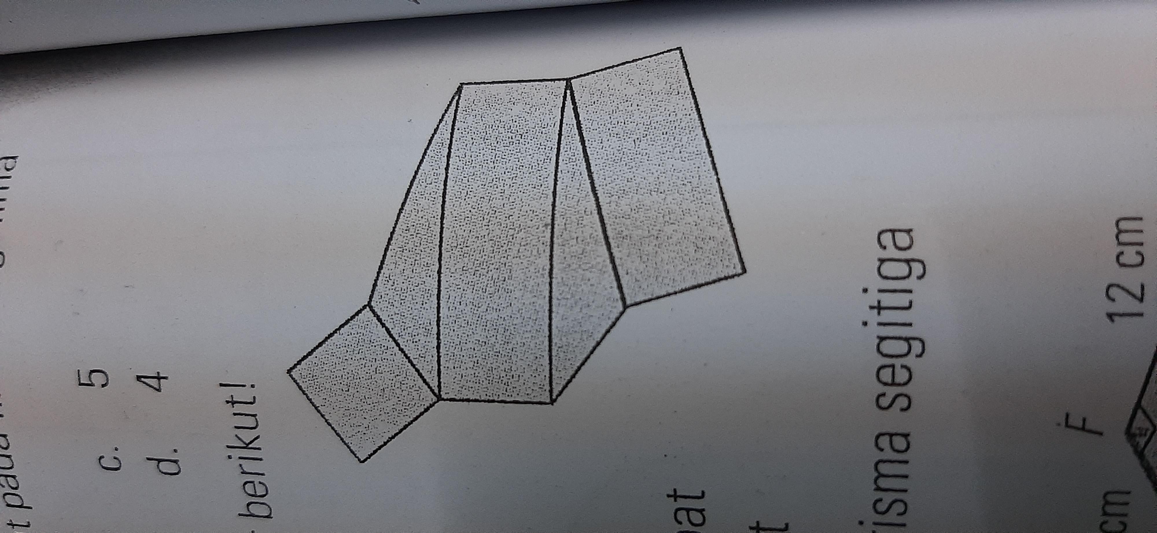 Perhatikan Gambar Berikut Gambar Tersebut Merupakan Jaring Jaring Bangun A Prisma Segitiga B Limas Brainly Co Id