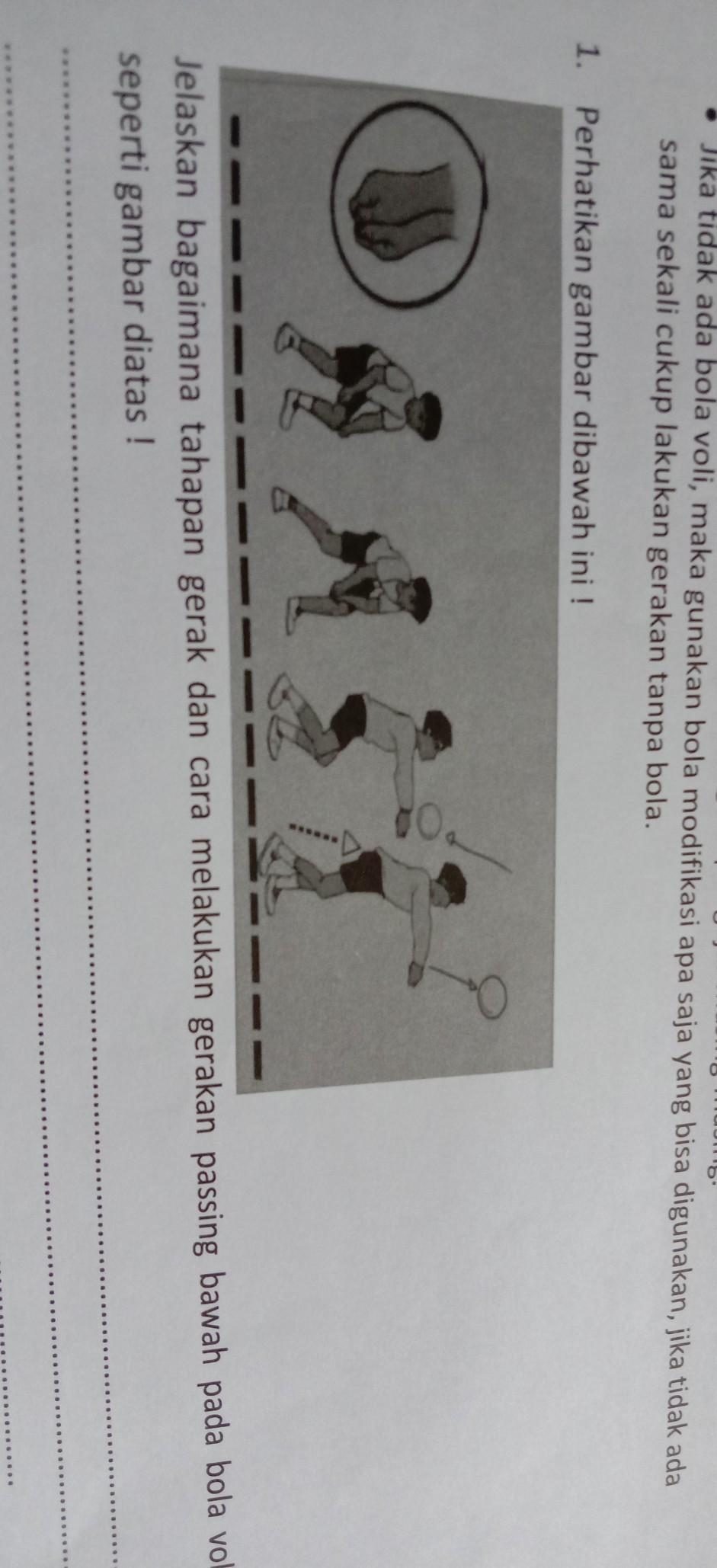 Jelaskan Bagaimana Tahapan Gerak Dan Cara Melakukan Gerakan Passing Bawah Pada Bola Voli Seperti Brainly Co Id