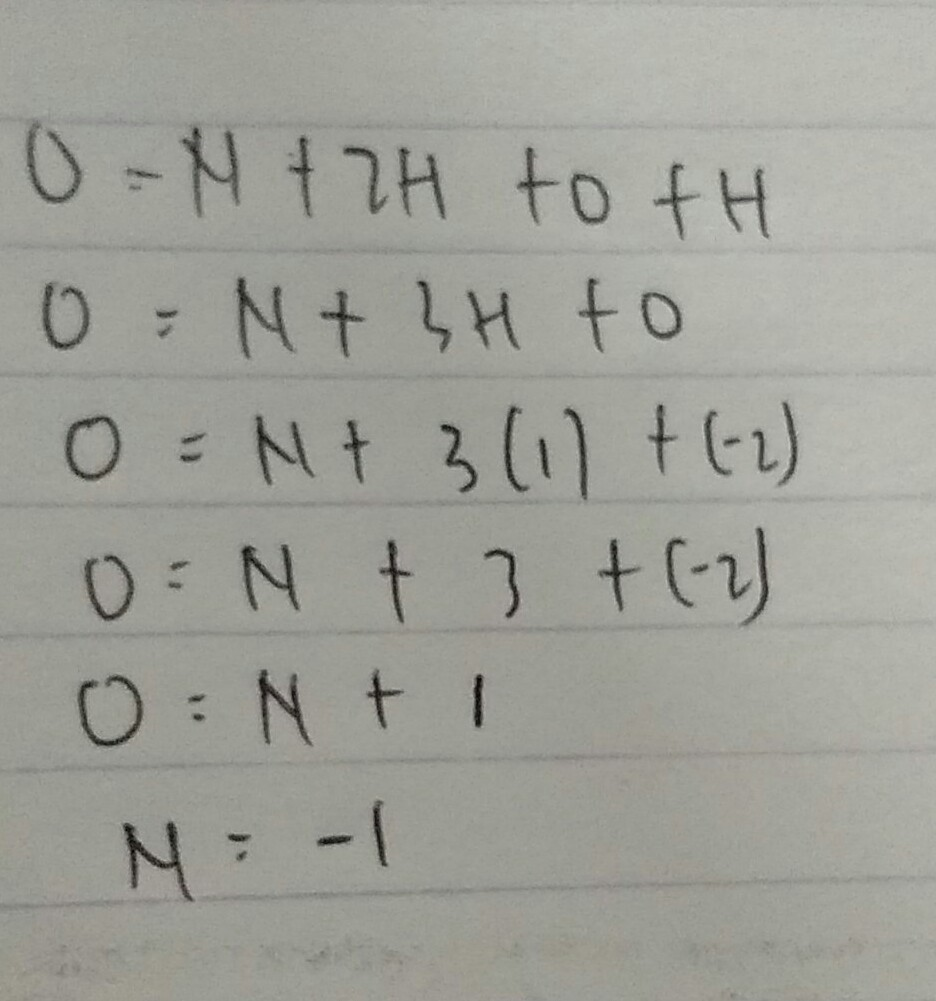 bilangan oksidasi atom nitrogen dari NH2OH - Brainly.co.id