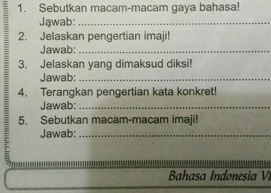 Majas Sinisme Brainly - 1001 Contoh Majas