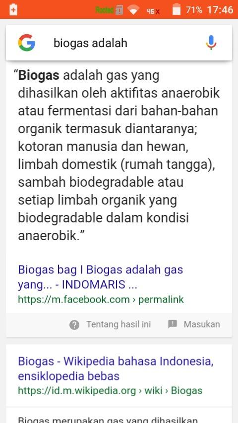 Salah Satu Energi Alternatif Adalah Biogas Apa Yang Dimaksud Dengan