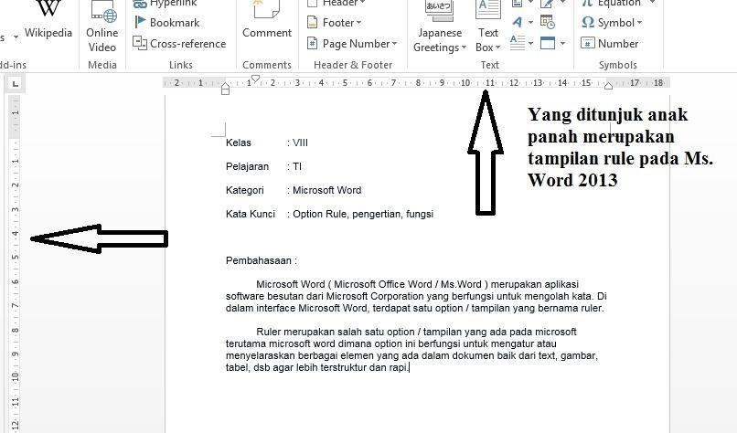 fungsi dari microsoft office word