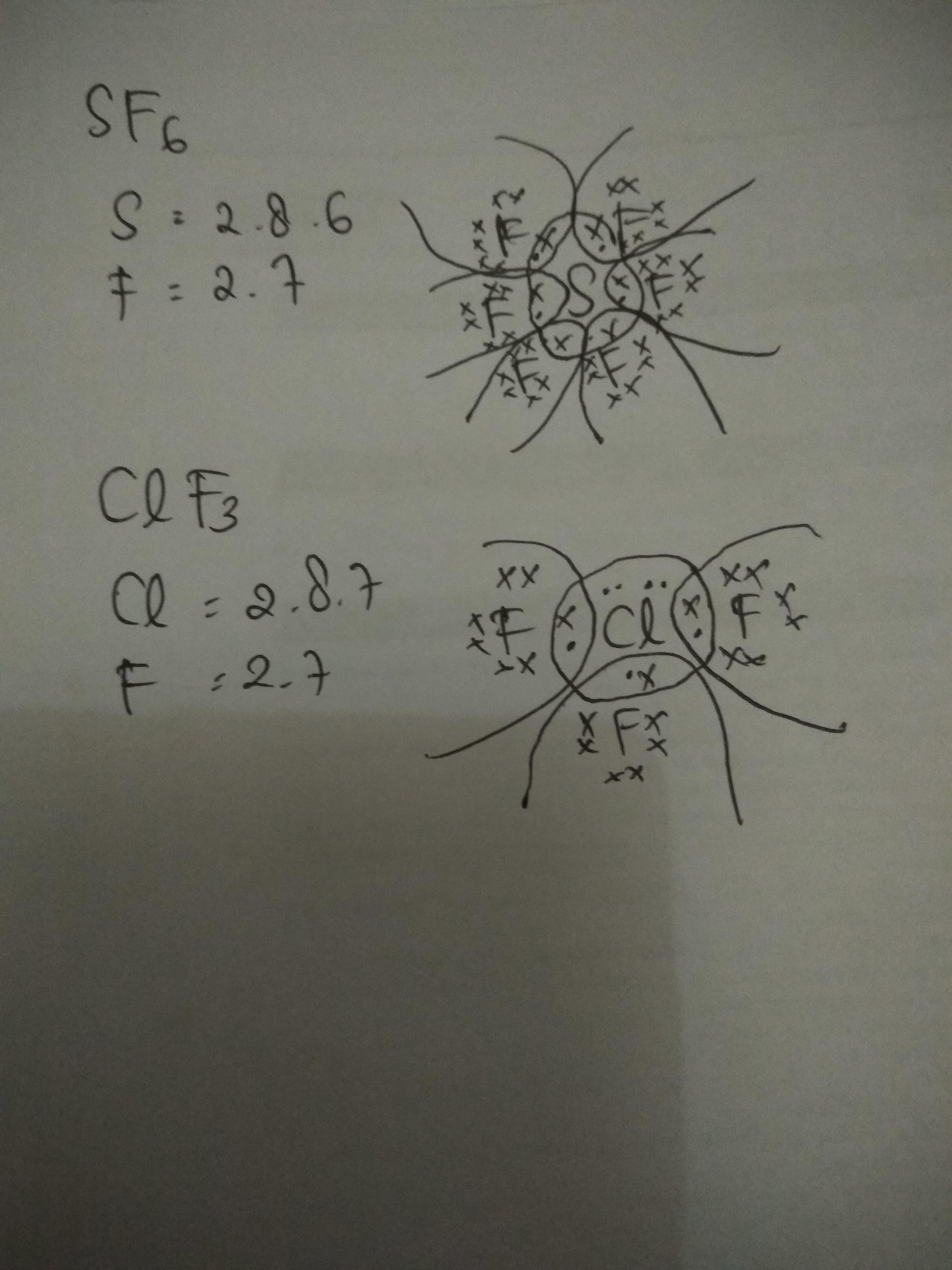Gambarkan Struktur Lewis Dari Sf6 Dan Cif3 Brainly Co Id