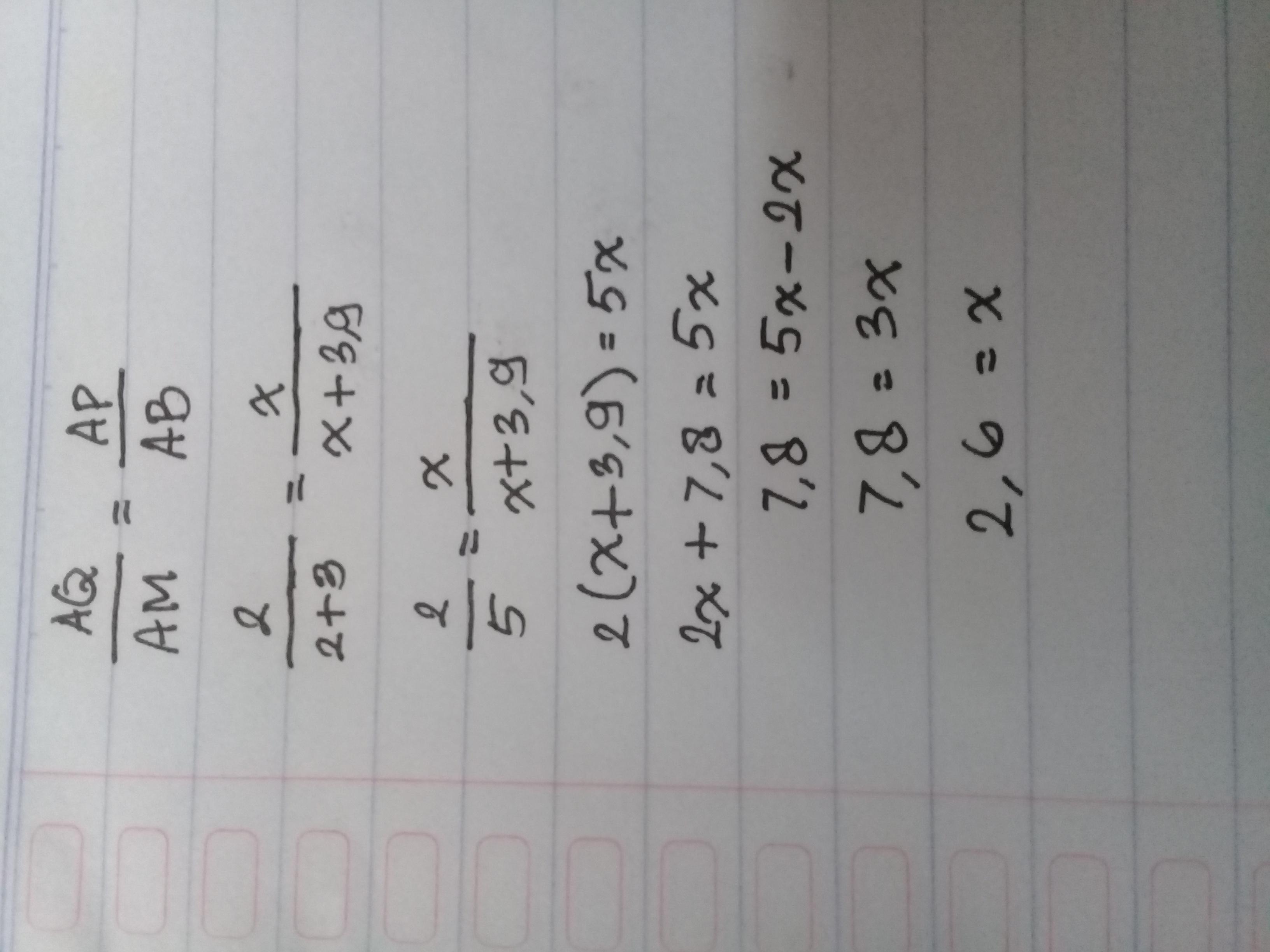 perhatikan gambar berikut nilai x pada gambar diatas ...