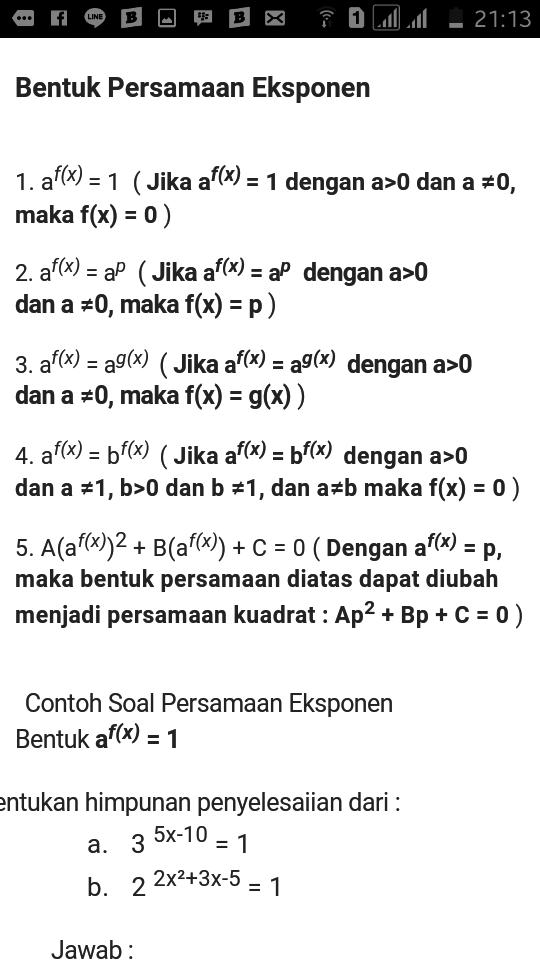 Matematika persamaan eksponen - Brainly.co.id 3e29df0f01
