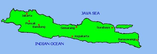 Gambar Peta Pulau Jawa Letak Provinsinya Brainly Id Itulah Provensinya