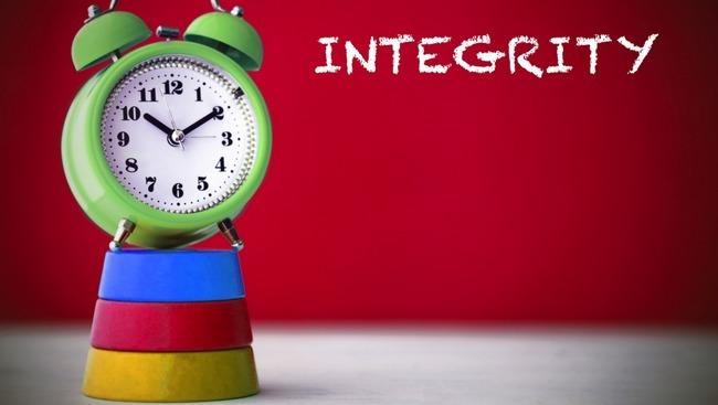 contoh sikap integritas...? - Brainly.co.id