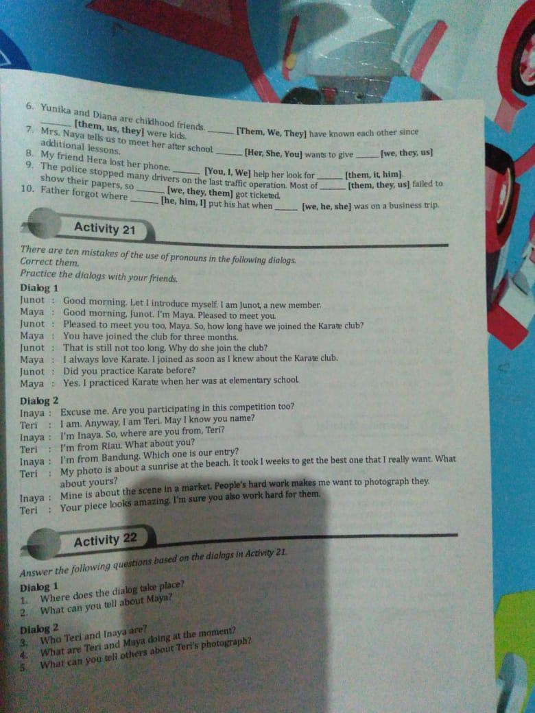 Lks Bahasa Inggris Kelas 7 Semester 2 Halaman 30 - Guru Galeri