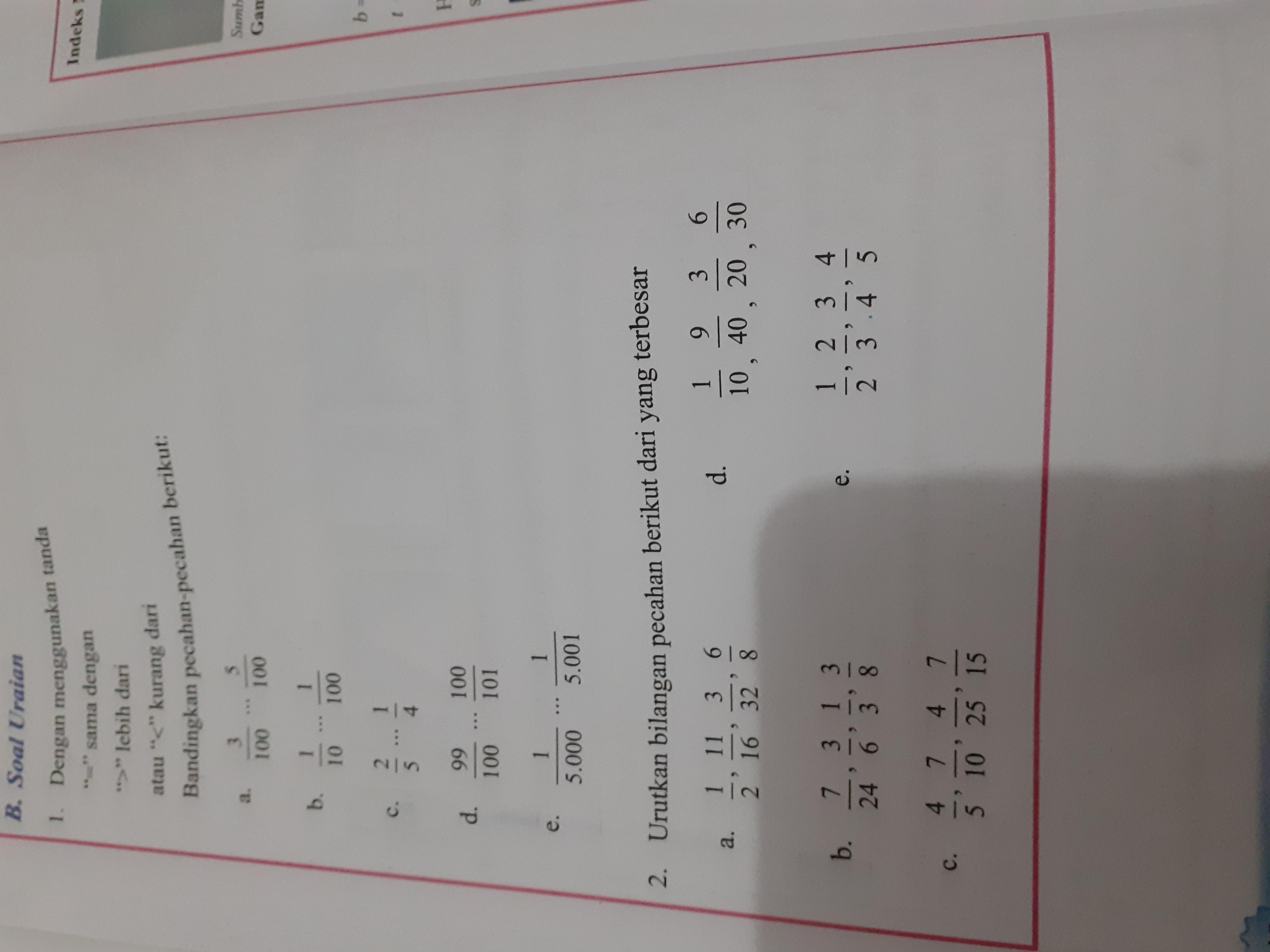 Jawaban Soal Uraian Matematika Kelas 7 Halaman 48