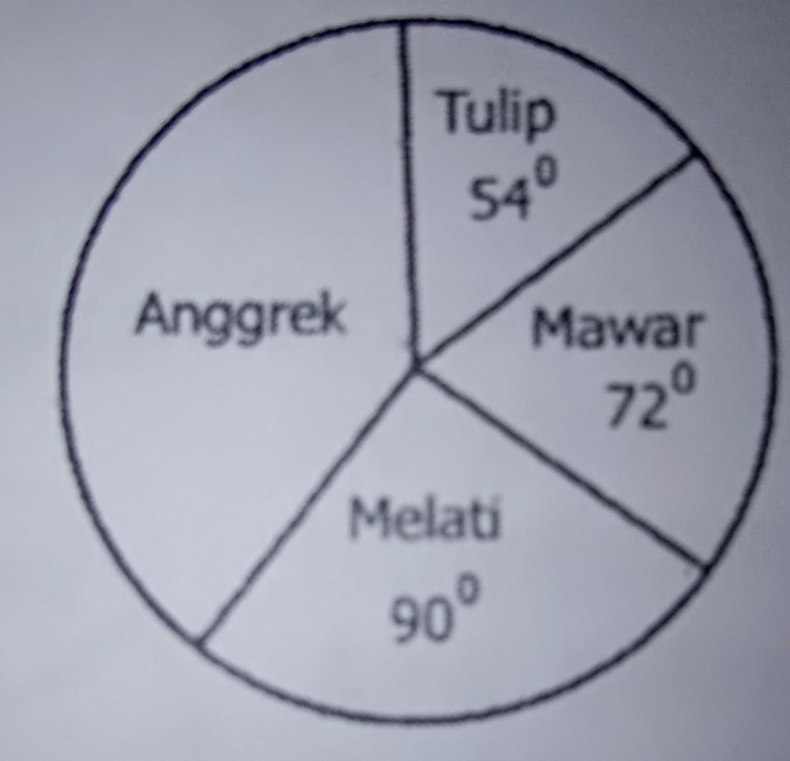 Diagram Lingkaran Mata Pelajaran