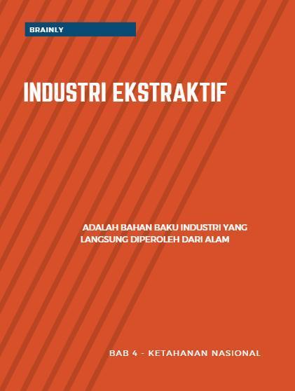 Apa Yang Dimaksud Dengan Industri Non Ekstraktif ...