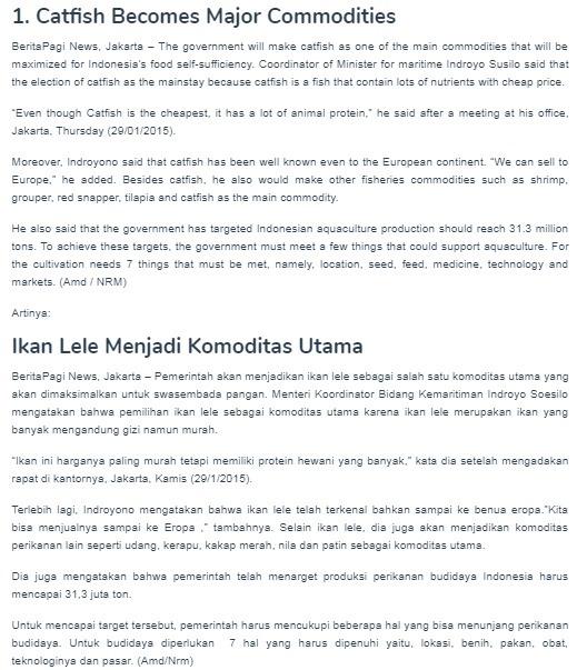 Artikel Bahasa Inggris Ekonomi Syariah Dan Terjemahannya Brainly Co Id