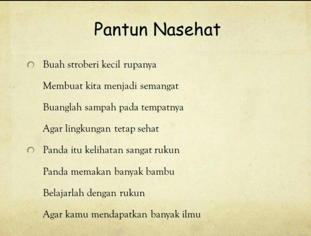 Contoh Pantun Cinta 2 Bait - Kumpulan Teks Ceramah, Kultum ...