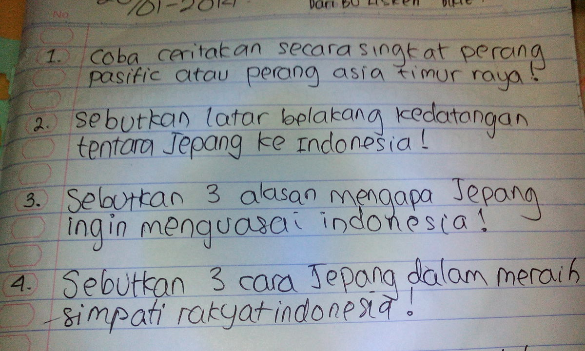 sebutkan 3 Alasan mengapa jepang ingin menguasai Indonesia ...