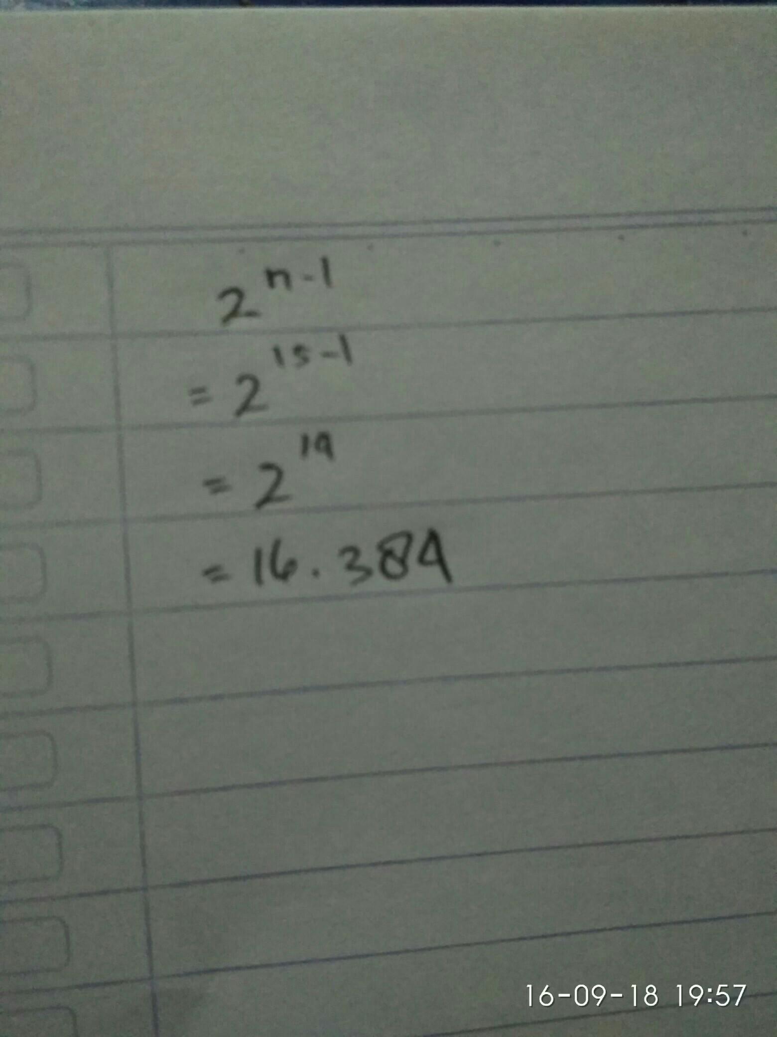 Tentukan Jumlah Bilangan Pada Baris Ke 15 Dari Pola Bilangan Segitiga Pascal Brainly Co Id
