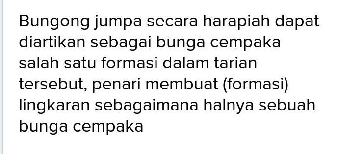 Tuliskan 3 Macam Formasi Tari Bungong Jeumpa Brainly Co Id