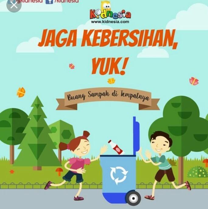 Poster Yang Bertemakan Kebersihan Lingkungan Industri