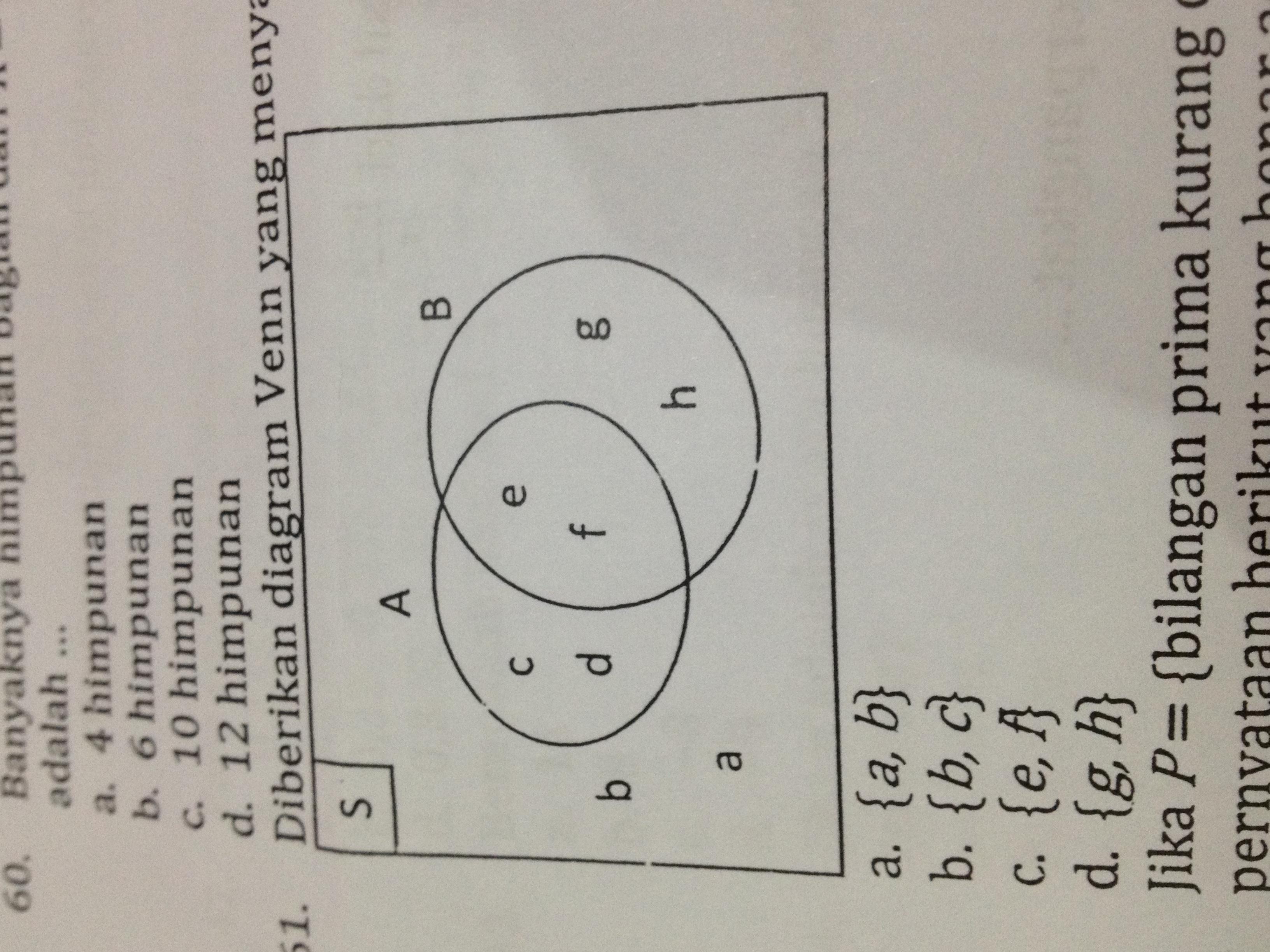 Kumpulan Contoh Soal  Contoh Soal Diagram Venn Brainly