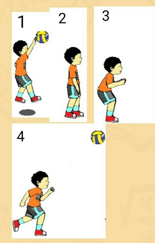 Gerakan Kombinasi Blok Pada Voli Variasi Dan Kombinasi Gerak Dasar Pada Permainan Bola Voli