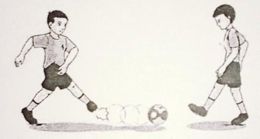Jenis Passing Permainan Sepak Bola Pada Gambar Tersebut Adalah Passing Brainly Co Id