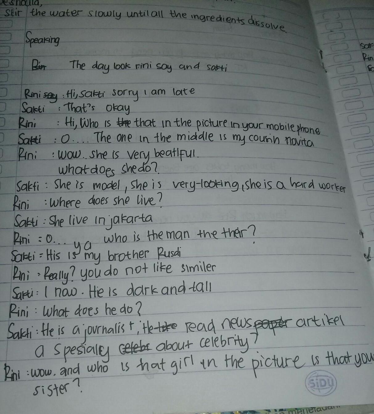 Teks Drama Bahasa Inggris 4 Orang Berbagai Teks Penting