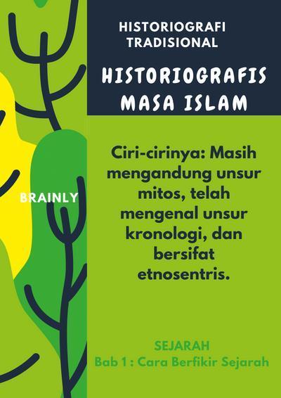 apa kelebihan dan kelemahan historiografi tradisional ...
