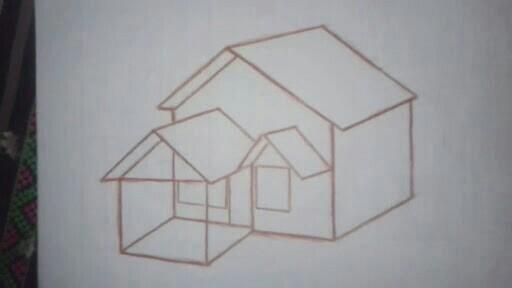 Bagaimana cara membuat gambar 3 dimensi rumah buat anak sd ...