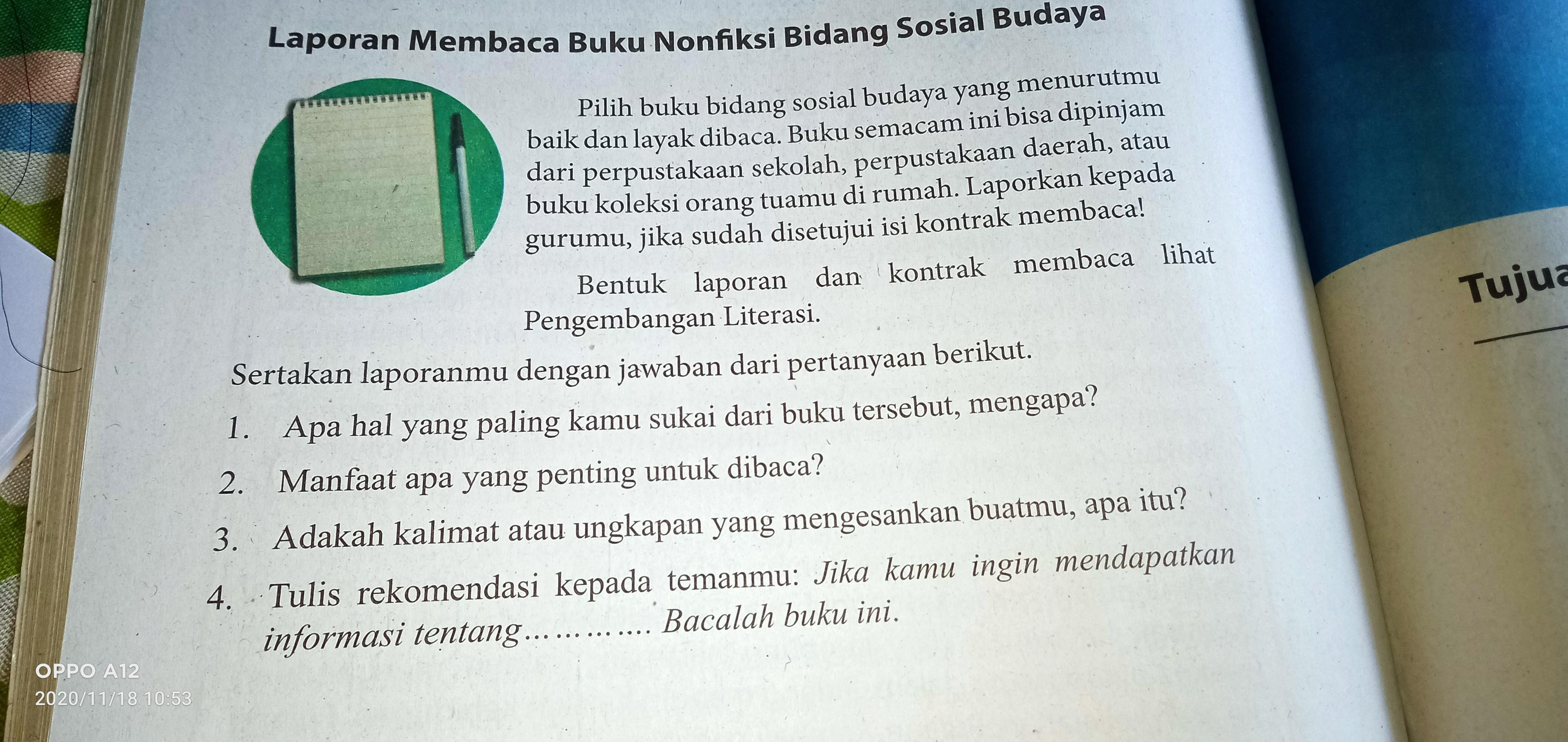 Point Jawaban Buku Paket Bahasa Indonesia Kelas 9 Halaman 114 Bantu Jawab Brainly Co Id
