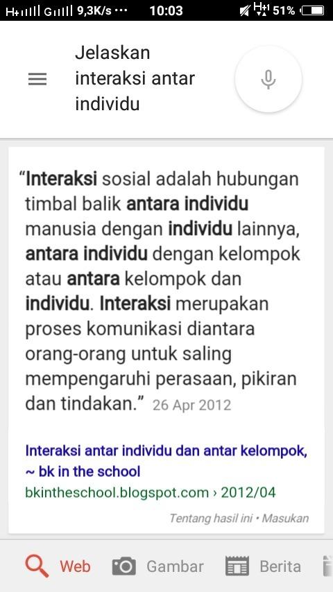 Contoh Interaksi Antar Individu - Aneka Contoh
