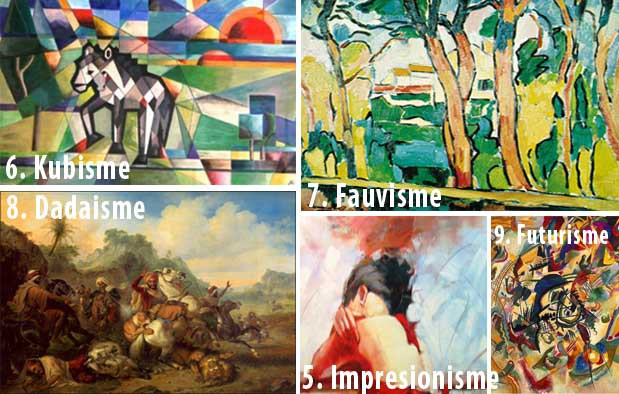 42+ Contoh Lukisan Beserta Nama Pelukisnya
