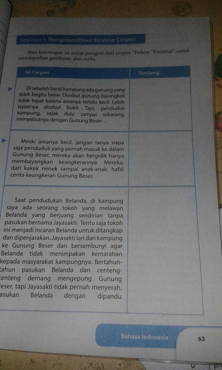 Jawaban Tugas Individu Bahasa Indonesia Kls 8 Hal 67