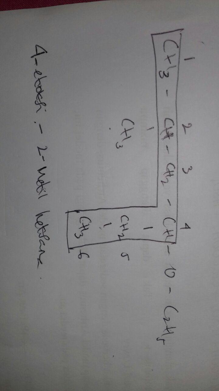 tuliskan nama iupac untuk senyawa senyawa berikut ini ...