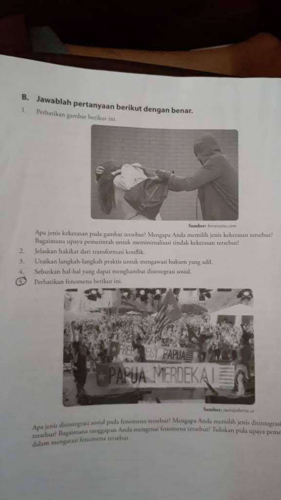 Soal no 5 Perhatikan gambar di bawah ini Apa jenis ...
