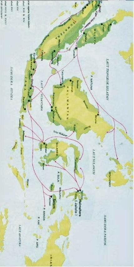 Jelaskan jalur penyebaran Islam di Indonesia - Brainly.co.id