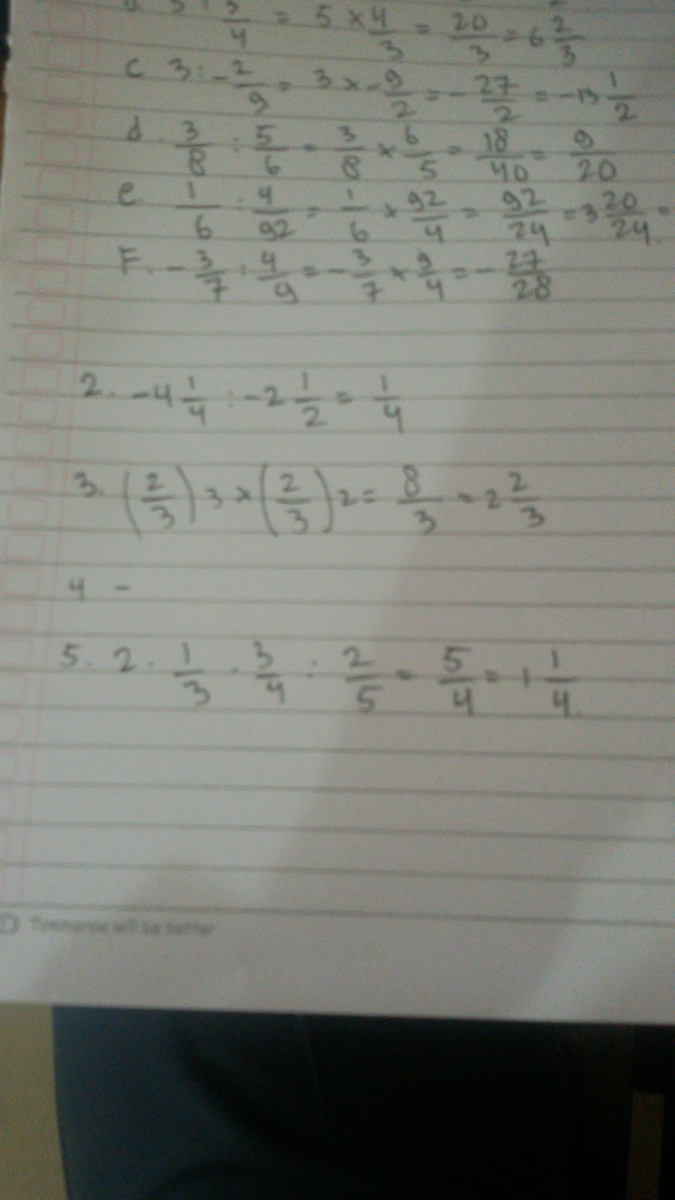 1 Tentukan Hasil Pembagian Bilangan Berikut A 3 2 5 B 5 3 4 C 3 2 9 D 3 8 5 6 Brainly Co Id