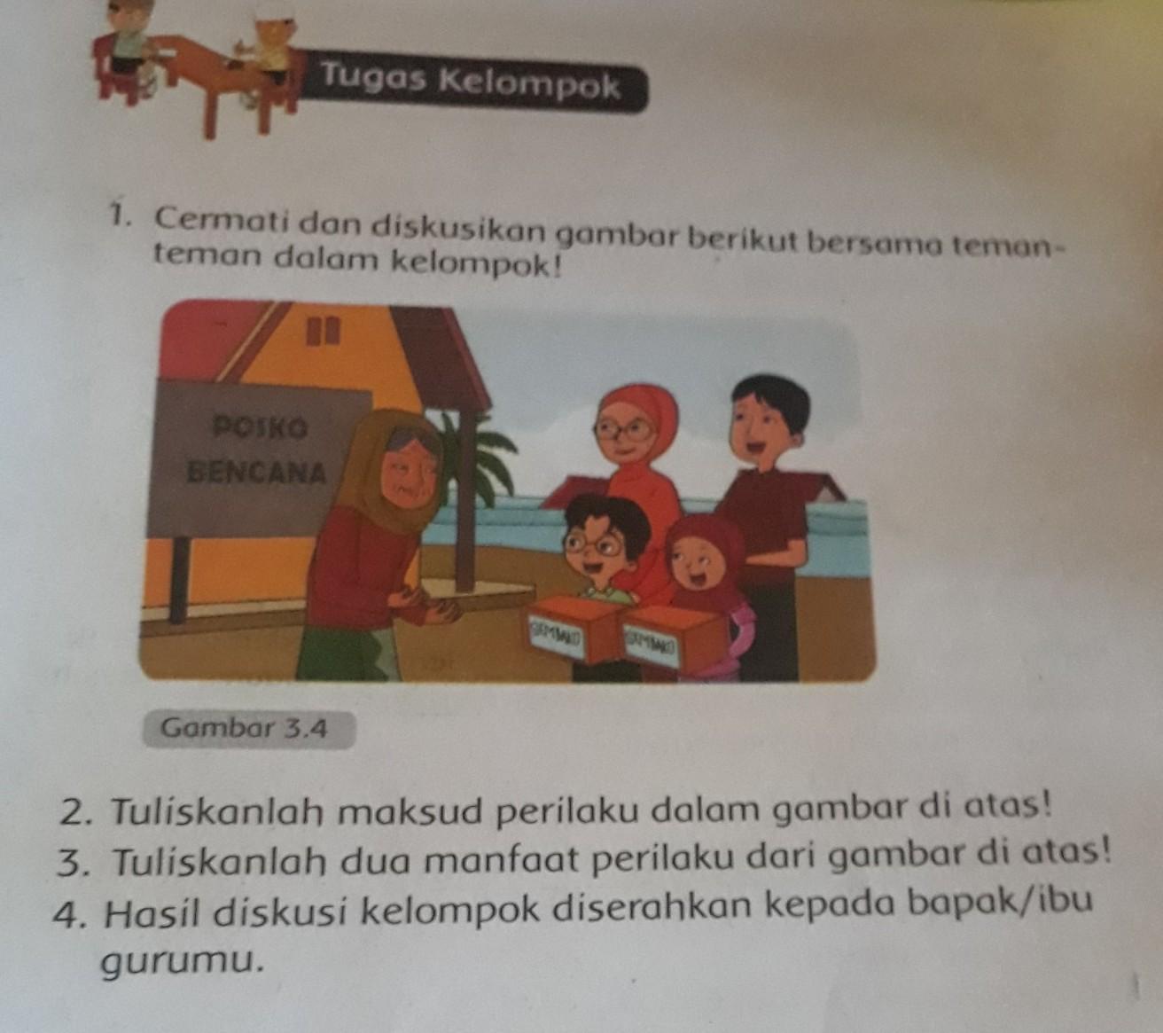 Kunci Jawaban Buku Pendidikan Agama Islam Dan Budi Pekerti Kelas 3 Halaman 37 Brainly Co Id