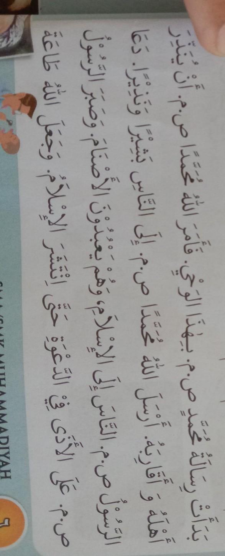 Tolong Artikan Bahasa Arab Berikut Ini Potongan Cerita Kisah Nabi Muhammadthx Yg Udh Jawab Brainly Co Id
