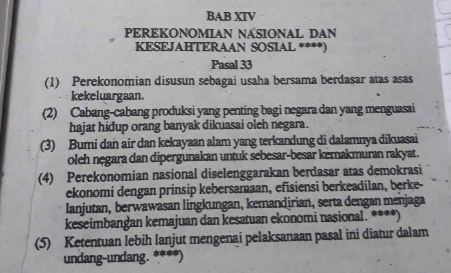 Adanya koperasi merupakan pelaksanaan UUD 1945 pasal33,ayat