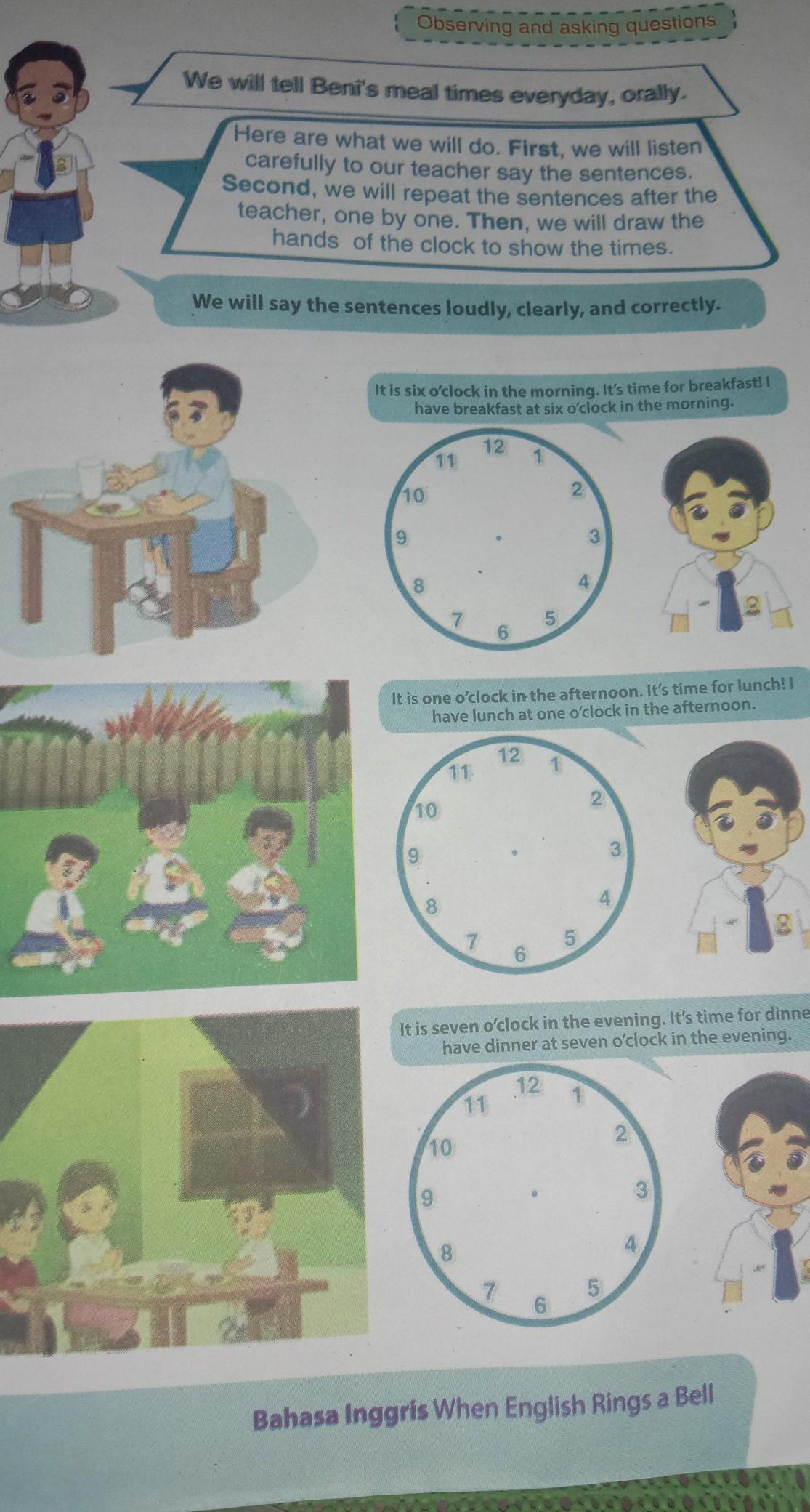 Jawaban Bahasa Inggris Kelas 7 Halaman 39 Brainly Co Id
