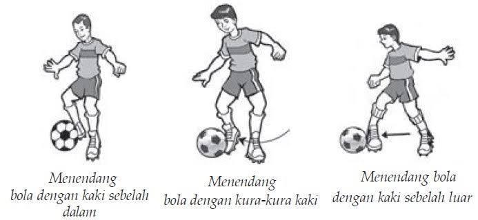 Jelaskan Cara Menendang Bola Dalam Permainan Sepak Bola Brainly Co Id