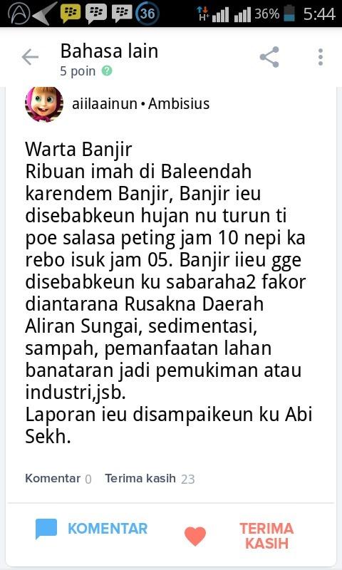 Contoh Berita Bahasa Sunda Beserta 5w 1h Brainly Co Id