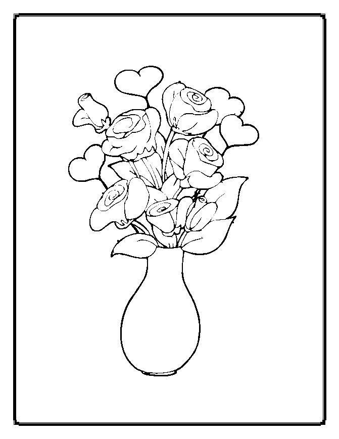 Sketsa Gambar Bunga Beserta Potnya Brainlycoid