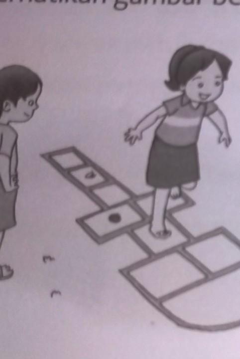 perhatikan gambar berikut nama permainan tradisional dalam ...