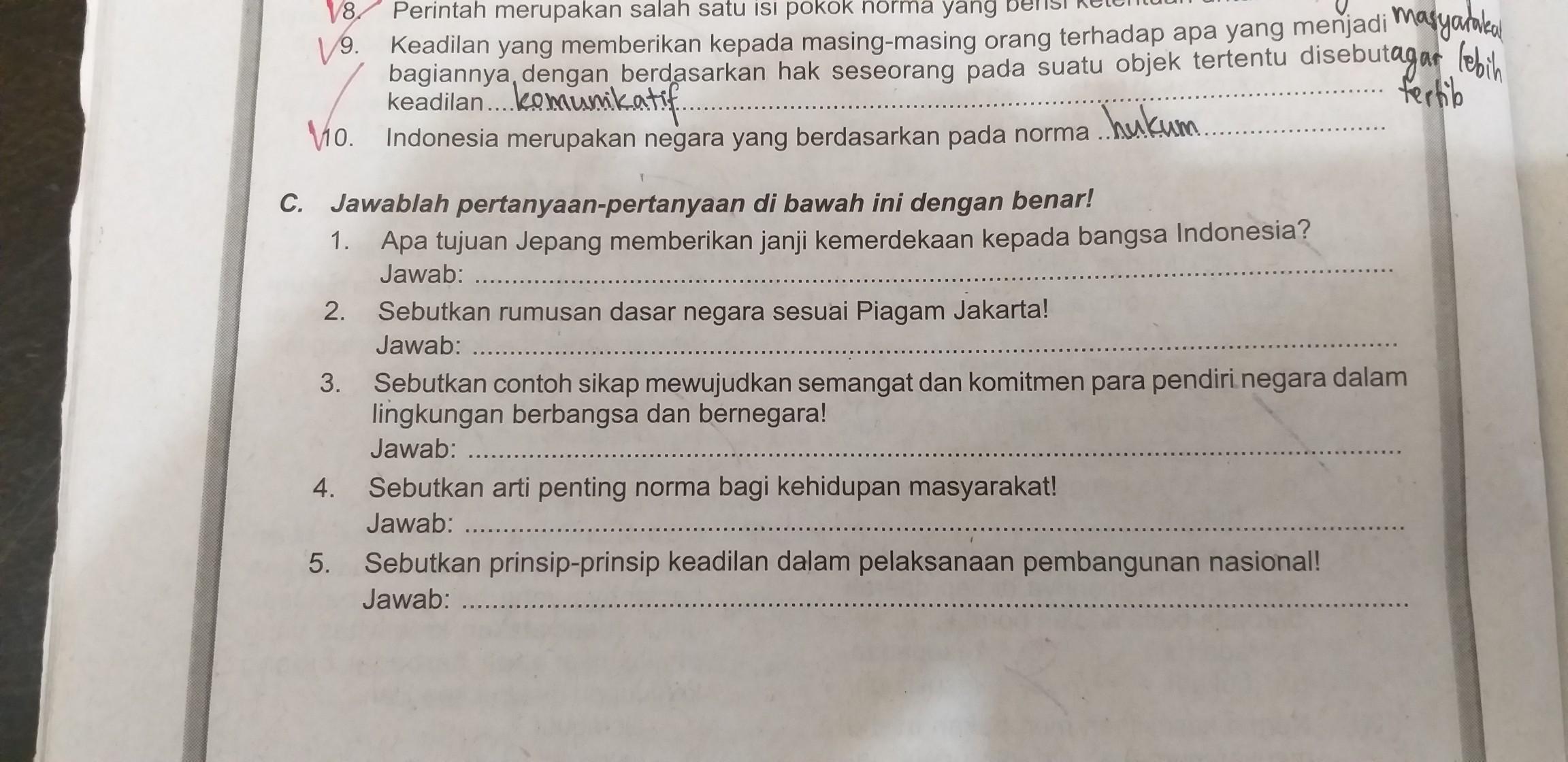 Sebutkan Rumusan Dasar Negara Sesuai Piagam Jakarta - Coba ...
