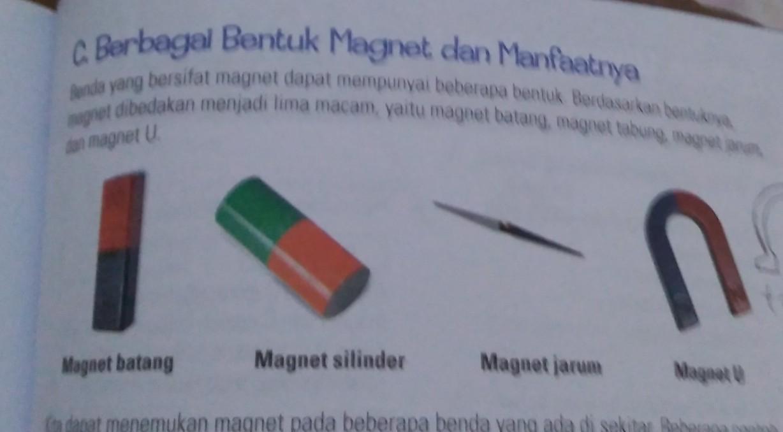 Sebutkan Bentuk Bentuk Magnet Beserta Gambarnya Brainly Co Id