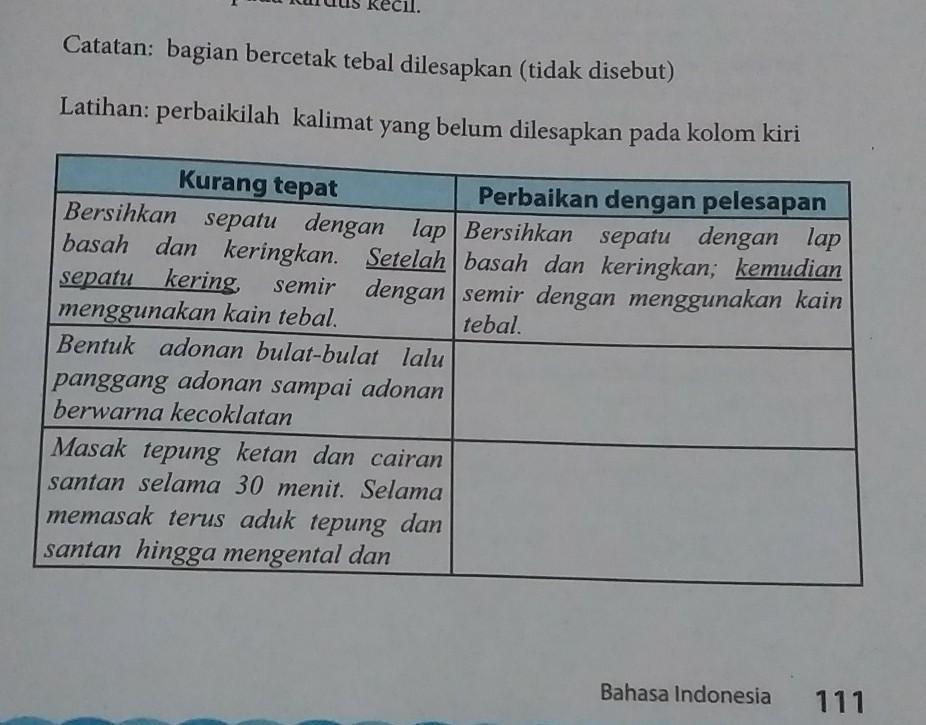 Kunci Jawaban Buku Paket Bahasa Indonesia Kelas 10 Halaman 111 Guru Galeri