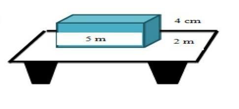 sebuah balok mempunyai ukuran seperti pada gambar, jika ...