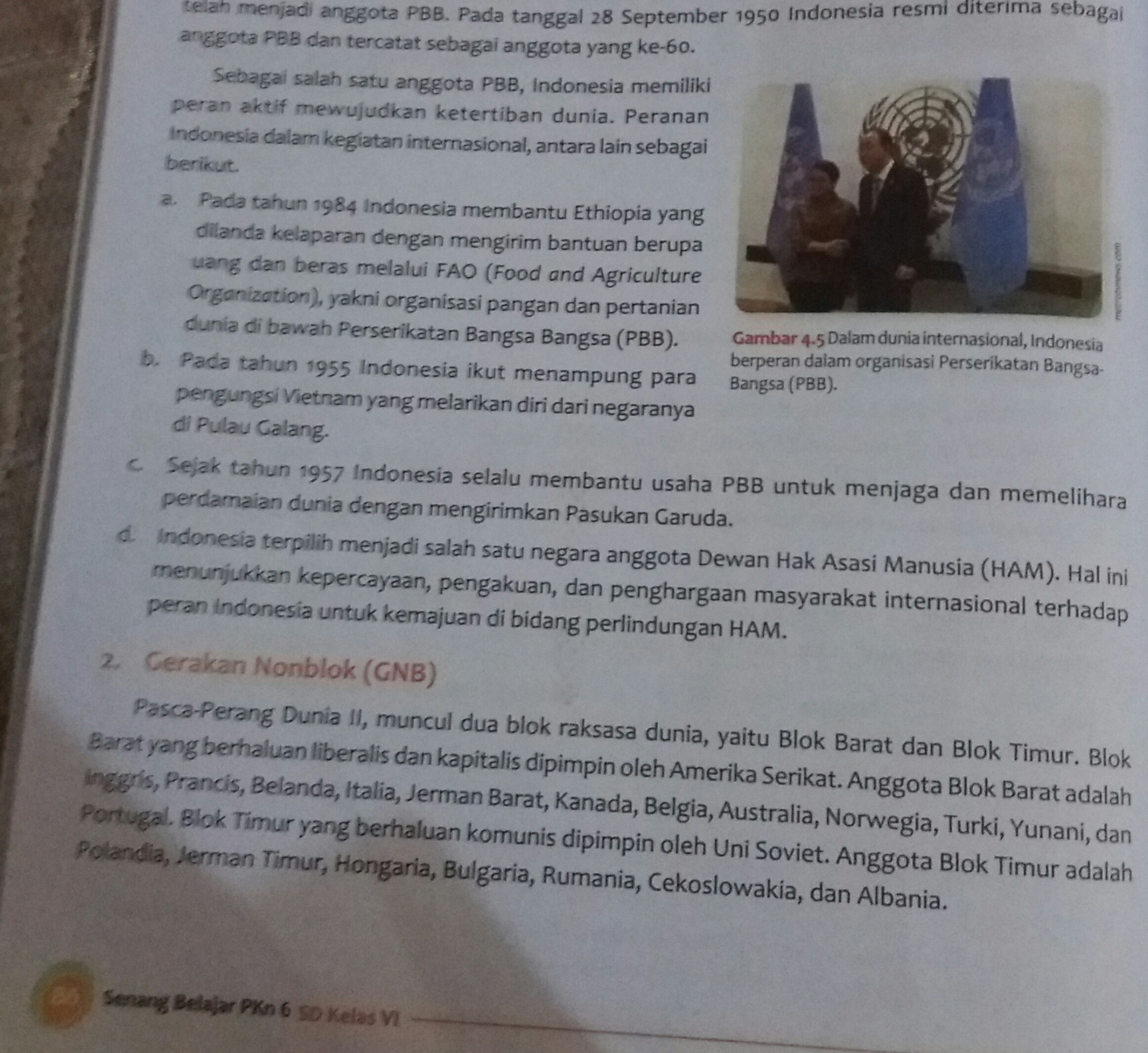 peran Indonesia di PBB - Brainly.co.id