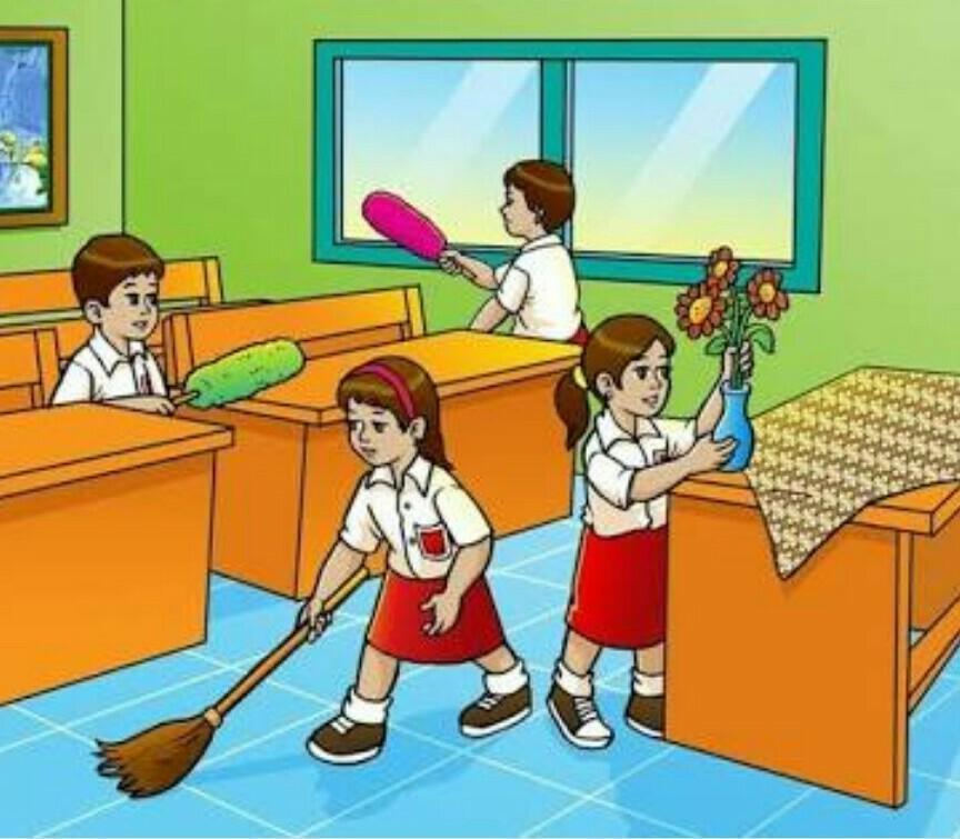Gambar Kerjasama Di Sekolah Kartun Contoh Kerja Sama Di Lingkungan Sekolah Gambar Nya Brainly Co Id
